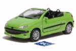 PEUGEOT 206CC WELLY 1:35 scale