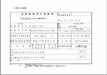 [登録証書交付申請書]